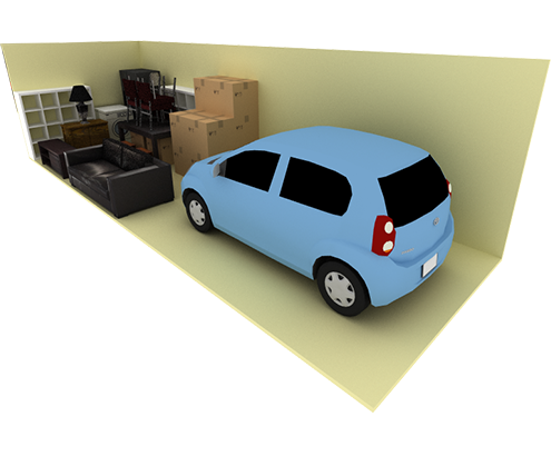 15 x 20 storage unit possible configuration